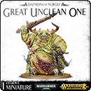 Warhammer 40000 (Age of Sigmar). Daemons of Nurgle: Great Unclean One