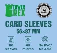 Протекторы для карт 56 х 87 мм (100 шт.)