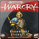 Warhammer Age of Sigmar. Warcry: Stormcast Eternals. Sacrosanct Chamber Cards