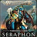 Warhammer Age of Sigmar. Warscroll Cards: Seraphon