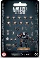 Warhammer 40000. Raven Guard Primaris Upgrades and Transfers