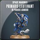 Warhammer 40000. Primaris Lieutenant in Phobos Armour