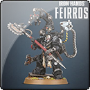 Warhammer 40000. Iron Hands: Feirros