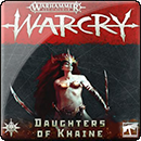 Warhammer Age of Sigmar. Warcry: Daughters of Khaine Card Pack