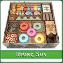 Органайзер для настольной игры Восходящее Солнце