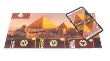 Настольная игра - 7 Wonders (7 чудес) компоненты игры