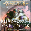Warhammer Age of Sigmar. Warscroll Cards: Kharadron Overlords