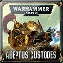 Warhammer 40000. Codex: Adeptus Custodes (Hardback)