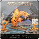Warhammer Age of Sigmar. Endless Spells: Disciples of Tzeentch