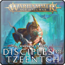 Warhammer Age of Sigmar. Battletome: Disciples of Tzeentch (Hardback)