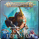 Warhammer Age of Sigmar. Warscroll Cards: Disciples of Tzeentch