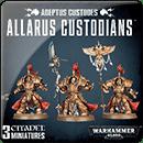 Warhammer 40000. Adeptus Custodes: Allarus Custodians