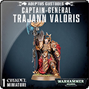 Warhammer 40000. Adeptus Custodes: Captain-General Trajann Valoris