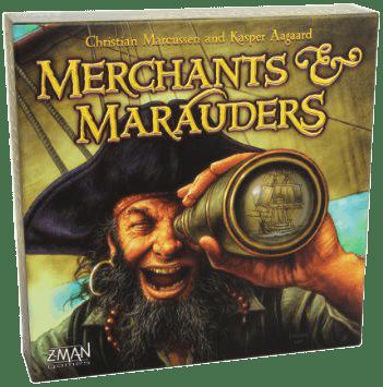 Настольная Игра Merchants & Marauders (Купцы и Пираты)