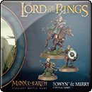 Middle-earth Strategy Battle Game: Eowyn and Merry