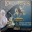 Middle-earth Strategy Battle Game: Gandalf White and Peregrin Took