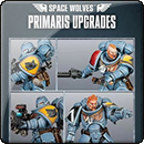 Warhammer 40000: Space Wolves Primaris Upgrades