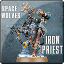 Warhammer 40000. Space Wolves: Iron Priest