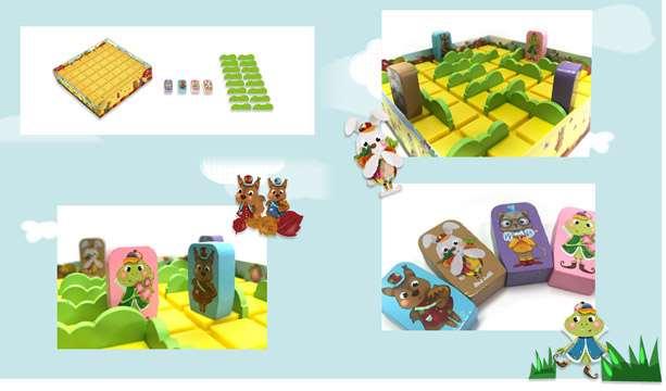 Настольная игра - Quoridor Kids (Коридор для детей)