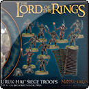 Middle-earth Strategy Battle Game: Uruk-hai Siege Troops