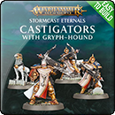Warhammer Age of Sigmar: Easy to Build Castigators with Gryph-hound
