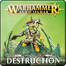 Warhammer Age of Sigmar: Grand Alliance: Destruction (Softback)