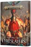 Warhammer Age of Sigmar: Warscroll Cards: Fyreslayers