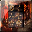 Warhammer Age of Sigmar: Fyreslayers Dice Set