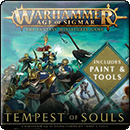 Warhammer Age of Sigmar: Tempest of Souls & Paint – Starter Set