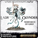 Warhammer Age of Sigmar: Nighthaunt: Lady Olynder, Mortarch of Grief