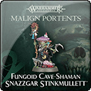 Warhammer Age of Sigmar: Moonclan: Fungoid Cave-Shaman Snazzgar Stinkmullett