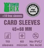 Протектори для карт 45 х 68 мм (100 шт.)