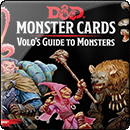 Dungeons and Dragons Spellbook Cards: Volo's Guide to Monsters