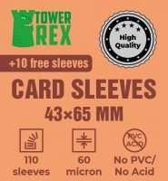 Протектори для карт 43 х 65 мм (100 шт.)