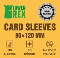 Протектори для карт 80 х 120 мм (100 шт.)