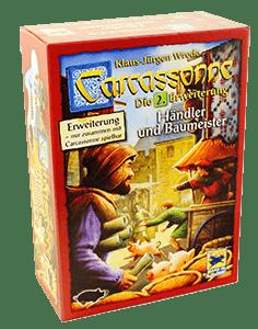 Настольная Игра Carcassone: Traders and Builders (Каркассон: Торговцы и Строители)