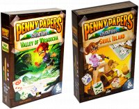 Комплект игр Penny Papers The Skull Island + Penny Papers: Valley of Wiraqocha