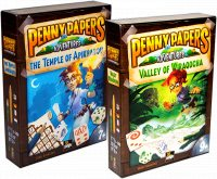 Комплект игр Penny Papers The Temple of Apikhabou + Penny Paper: Valley of Wiraqocha