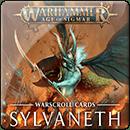 Warhammer Age of Sigmar. Warscroll Cards: Sylvaneth