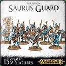 Warhammer Age of Sigmar. Seraphon: Saurus Guard