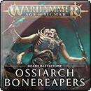 Warhammer Age of Sigmar. Battletome: Ossiarch Bonereapers (Hardback)