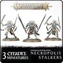 Warhammer Age of Sigmar. Ossiarch Bonereapers: Necropolis Stalkers