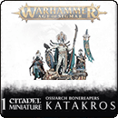 Warhammer Age of Sigmar. Ossiarch Bonereapers: Katakros, Mortarch of the Necropolis