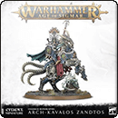 Warhammer Age of Sigmar. Ossiarch Bonereapers: Arch-Kavalos Zandtos