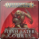 Warhammer Age of Sigmar. Battletome: Flesh-Eater Courts (Hardback)
