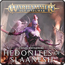 Warhammer Age of Sigmar. Battletome: Hedonites of Slaanesh (Hardback)