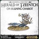 Warhammer Age of Sigmar: Herald of Tzeentch on Burning Chariot / Exalted Flamer of Tzeentch