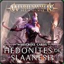 Warhammer Age of Sigmar. Warscrolls: Hedonites of Slaanesh