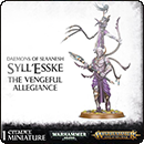 Warhammer Age of Sigmar (Warhammer 40000). Daemons of Slaanesh: Syll'Esske