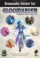 Gloomhaven: Forgotten Circles. Removable Sticker Set